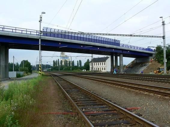 6.8.2009 - Studénka: Nový most po roce v provozu © Karel Furiš