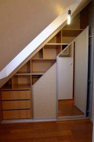 skříně do podkroví-7